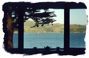 View of Tomales Bay from room